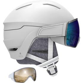 Salomon Mirage Ski Helmet Women white/blue solar